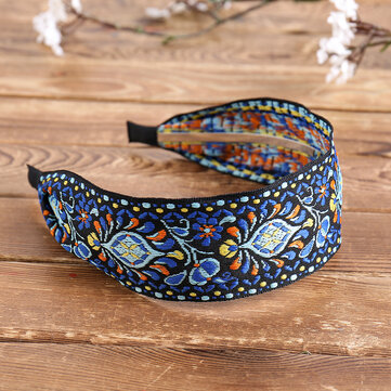 Bohemian Embroidery Headband