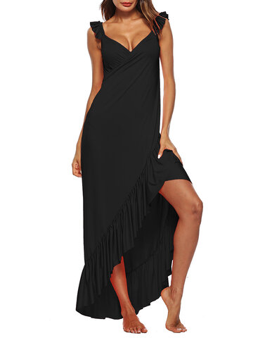 Sexy Beach Backless Maxi Dresses