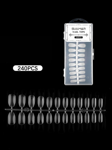 Transparent Water Drop Nail Stickers
