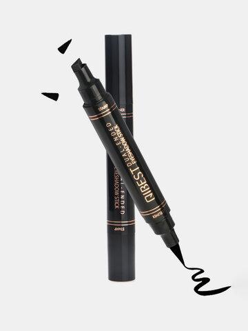 12 لونا قلم كحل مزدوج الرأس