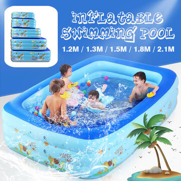 Summer Inflatable Children's Pool Swimming Center Water Park