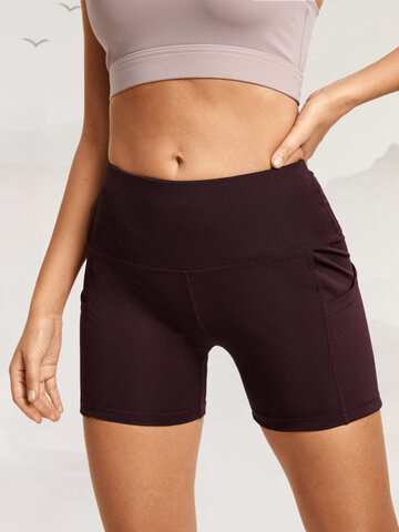 Stretch Skinny Fit Breathable Fitness Shorts