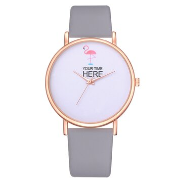 Flamingo Fashion Casual Lady Watch