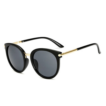 High Definition Sunglasses Metal Frame Anti-UV Glasses