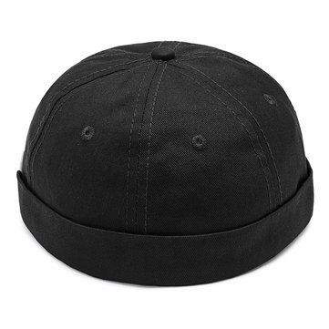 Mens Cotton Adjustable Brimless Hats