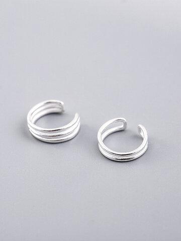 925 Sterling Silver Ear Clip