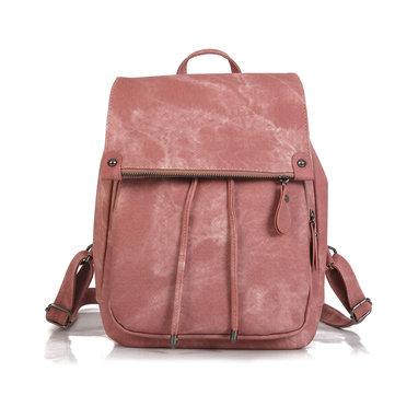 Women Pu Leather Backpack Shoulder Bag  Handbags