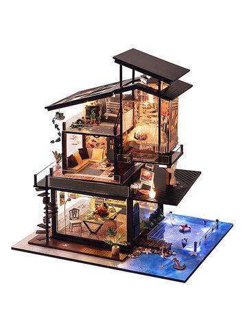 DIYコースタルヴィラドールハウス