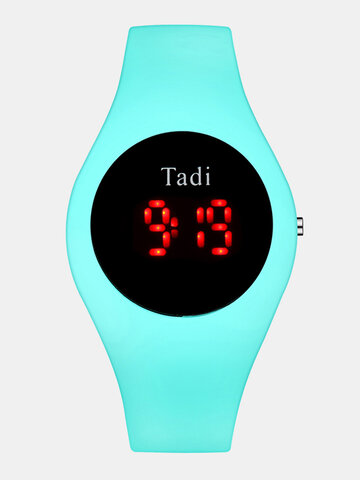 Silicone Waterproof Electronic Watch