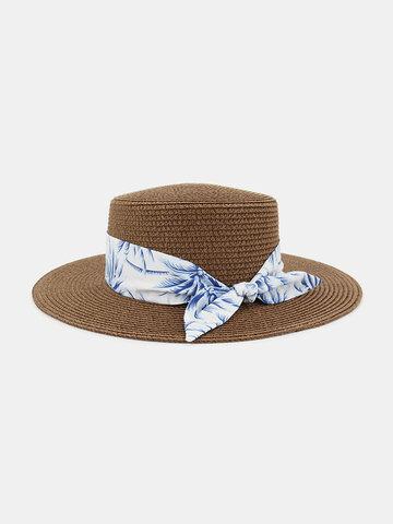 Femmes voyage vacances chapeau de plage jazz chapeau de paille protection solaire chapeau de soleil