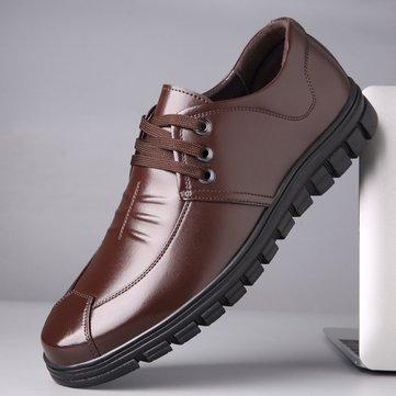 Мужская удобная кожаная обувь Soft