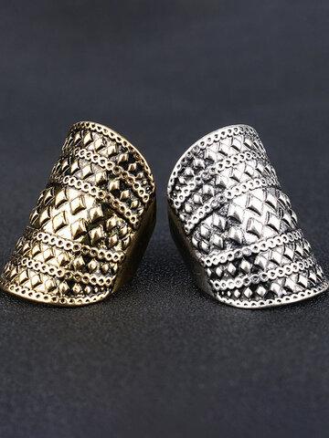 Metal Rive Finger Ring