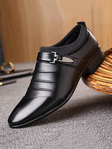 Men Classic Dress Wedding Shoes