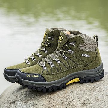 Zapatillas de senderismo antideslizantes para hombre al aire libre
