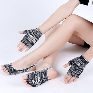 Yoga Set Socks Gloves