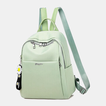 Oxford Daisy Ornament Anti theft Waterproof Backpack