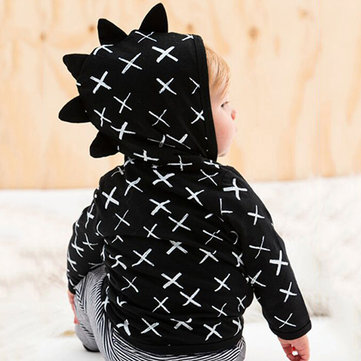 Cartoon Boy Girl Hoodie Coat 1Y-5Y