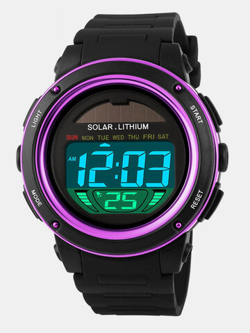 SKMEI Men's Solar Power Watches