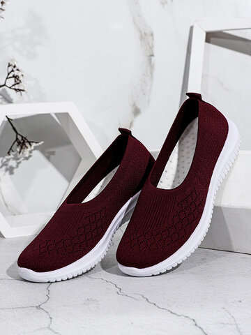 Easy Slip On Casual Flat Shoes