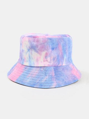 قبعة دلو سروال قصير للرجال والنساء على الوجهين