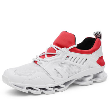 Männer Mesh Splicing Sport Casual Sneakers