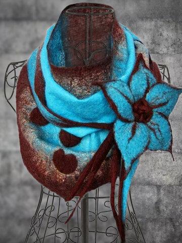 Women's Vintage Floral Elegant Boas & Scarves