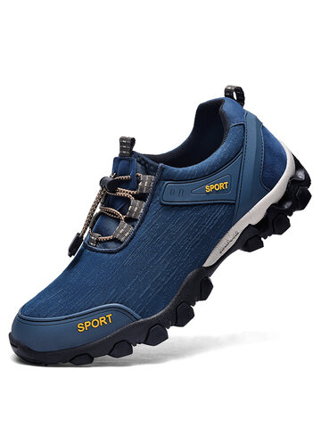 Men Outdoor Waterproof Hiking Sneakers
