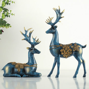 A Couple Of Deer Ornaments