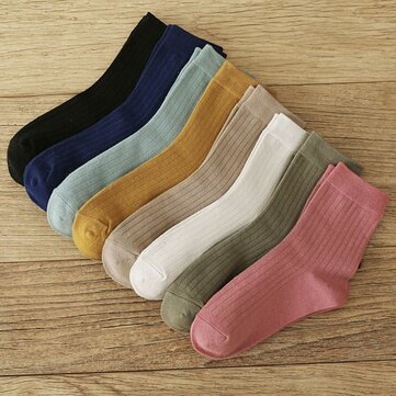 Nuovo prodotto pompaggio Calze giapponese colore selvaggio nel tubo Calze cotone moda Calze donne