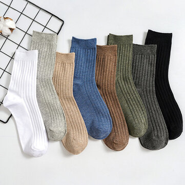 Ankle Socks Men's Socks Solid Color Draw Men's Tube Socks