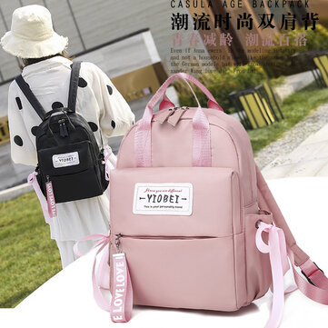 Backpack Female Korean Version Of The College Junior High School Student Bag Male Large Capacity Travel Computer Bag Ins Super Backpack