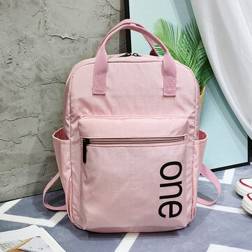 Nylon Waterproof Backpack 2019 Fashion Large Capacity Simple Outdoor Travel Backpack Trend Student Bag