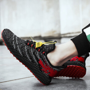 Men Breathable Lightweight Sports Running Shoes
