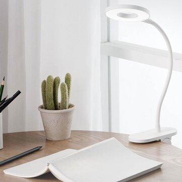 Luz de mesa con clip recargable USB