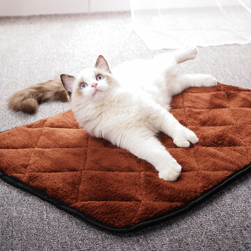 Plus Veludo acolchoado Cachorro Mat impermeável Anti-Hair Kennel Mat