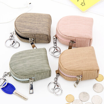 Creative Bark Pattern Bag Style Coin Purse Storage Bag Four Colors Optional