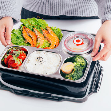 4 Layer Stainless Steel Lunch Box