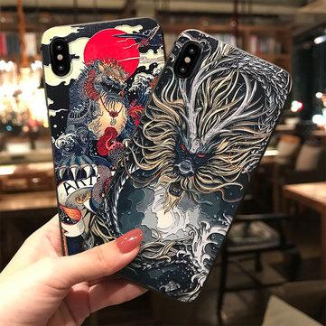 Dragón Teléfono impreso Caso