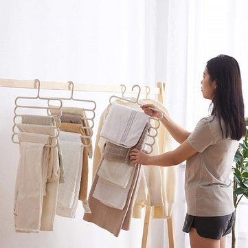 Multi-Layer Storage Multi-Function Hanger Five-Layer Hanging