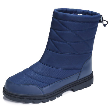 Men Waterproof Mid-calf Boots