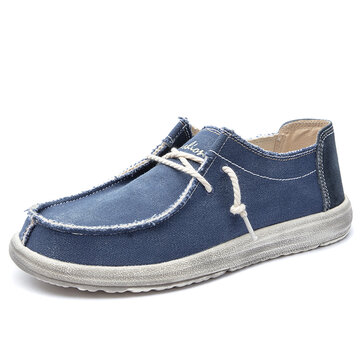 Men Classic Washed Canvas Shoes