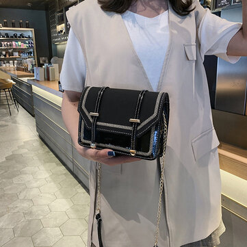A Generation Of 2019 Spring New Chain Small Square Bag Double Belt Handbags Fashion Casual Slung Shoulder Bag