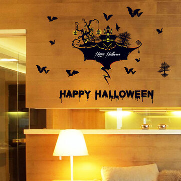 Halloween Haunted House Sticker