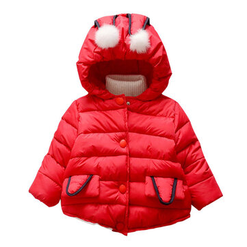 Baby Thicken Warm Winter Coat For 0-24M