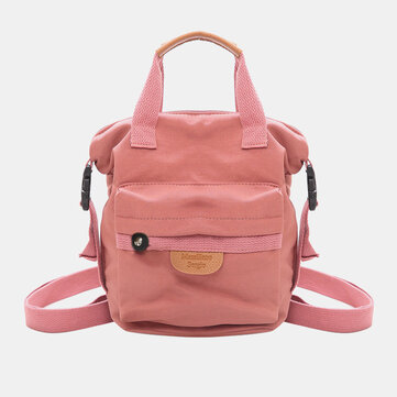 Women Oxford Casual Basic Backpack