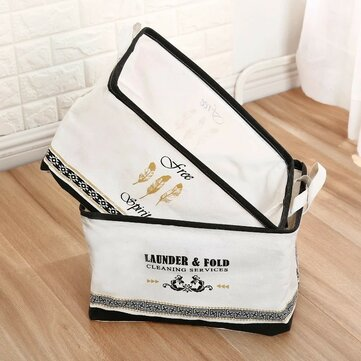 Fabric INS Wind Folding Storage Basket