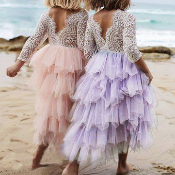 Girls Layered Tutu Dress For 2-9Y