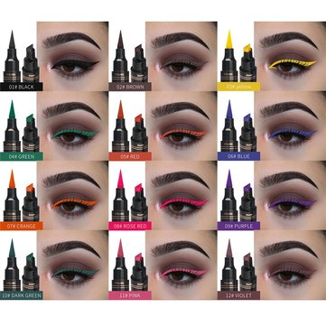 12 Farben Double Head Eyeliner Pen