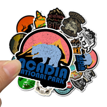 50Pcs Outdoor Travel Graffiti Stickers