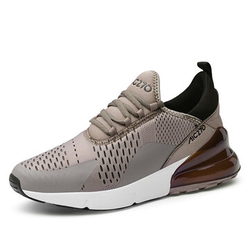Herren Shock Absorption Air Cushion Sole Sneakers